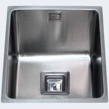 KSC22SS Undermount square single bowl sink