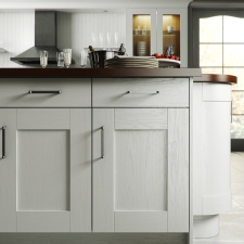 Painted White Wood Shaker