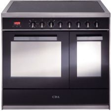 RV961SS 90cm twin cavity electric range cooker