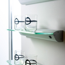 Illuminated Glass Shelf
