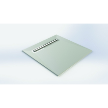 Impey Aqua-Dec Linear 4 Wetroom Floor Former - 1000mm x 1000mm
