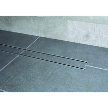 Impey Linear 400mm Vertical Drain with Tiled Insert Top