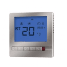 Impey Underfloor Heating AMSTAT Thermostat Silver