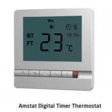 Impey Underfloor Heating AMSTAT Thermostat White