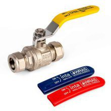 Inta Uni Gas/Water Lever Ball Valve 3/4in