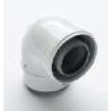 Intergas 90 Degree Bend White
