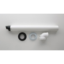 Intergas Lo Pro Telescopic Horizontal Straight Flue Kit