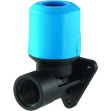 "JG Speedfit Blue Back Plate Elbow 25mm X 3/4"" Bsp"