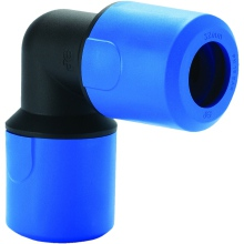 JG Speedfit Blue Equal Elbow 32mm