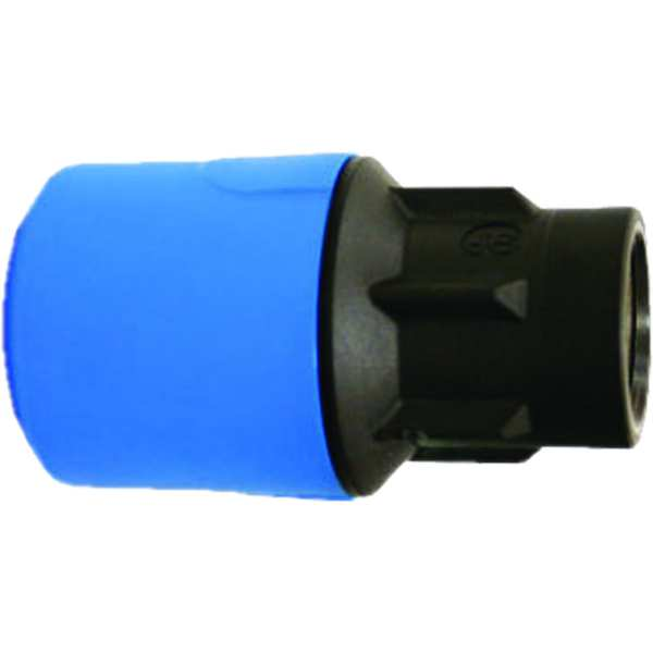 "JG Speedfit Blue Female Adaptor 20mm X 1/2"" Bsp"