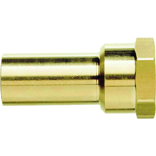 JG Speedfit Brass Female Stem Adaptor 15mm x 1/2""