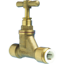 JG Speedfit Brass Stop Valve 15mm