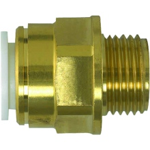 "JG Speedfit Brass Male Coupler 22mm 3/4"" bspt"