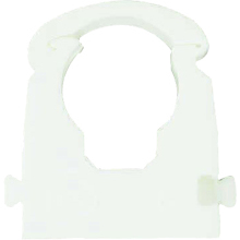 JG Speedfit Pipe Clip and Spacer White 15mm