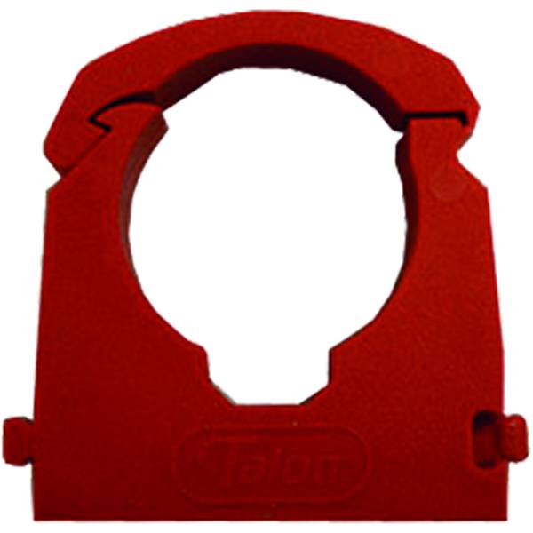 JG Speedfit Pipe Clip and Spacer Red 22mm