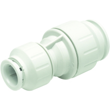 John Guest Speedfit 15mm Reducing Straight Coupler - White