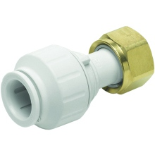 John Guest Speedfit Connector Tap Straight 22mm X 3/4""