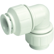 John Guest Speedfit 15mm Equal Elbow Connector - White