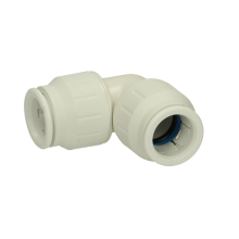 John Guest Speedfit 22mm Equal Elbow Connector - White