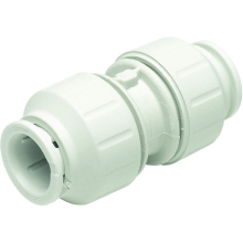 John Guest Speedfit 15mm Straight Connector - White