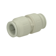 John Guest Speedfit 22mm Straight Connector - White
