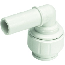 John Guest Speedfit 15mm Stem Elbow - White