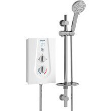 Joy Thermostatic 8.5Kw Electric Shower White