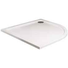 JT40 Fusion 1000mm x 1000mm Quadrant Shower Tray - White