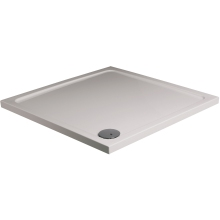 JT40 Fusion Square Shower Tray 800mm - White