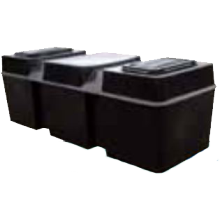 Kingspan Titan Ferham Low Level Coffin Tank 50 Gallon