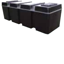Kingspan Titan Ferham Low Level Coffin Tank 100 Gallon