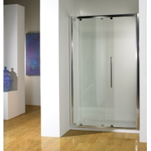 Kudos 1200mm Sliding Enclosure Silver