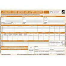 Landlord Gas Safety Pads / Certificate - CORGIdirect CP12 (50 Pack) New Design