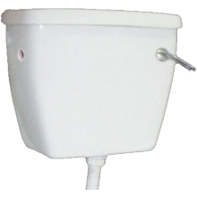 Lecico Atlas Low Level Cistern and Fittings Pack White