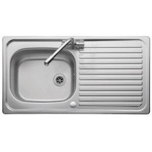 Leisure Linear 950mm x 508mm 1 Tap Hole Sink