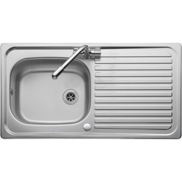 Leisure Linear 950x508 Inset 1 Tap Hole Single Bowl Reversible