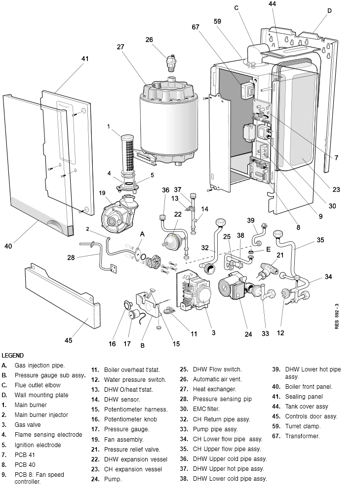 Boiler manuals ideal response 80 view manual asfbconference2016 Images