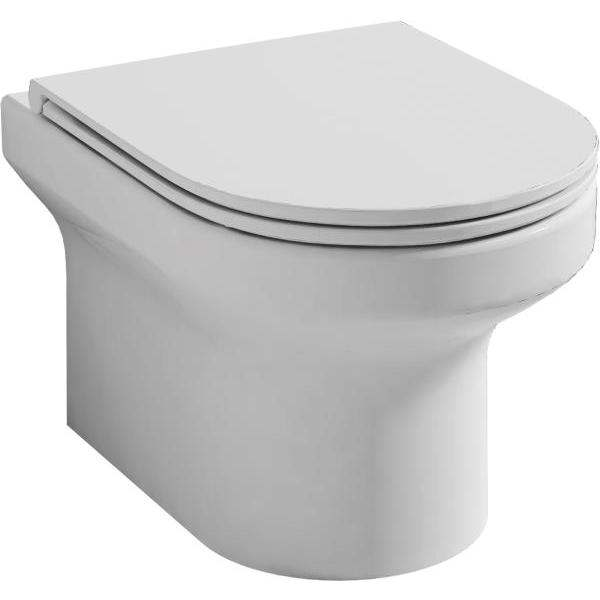Lydia Rimless Wall Hung WC Pan
