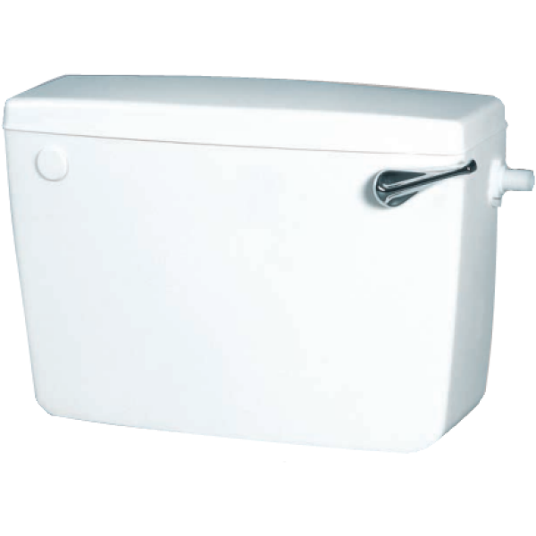 Macdee Concord Cistern Low Level SIIO - White