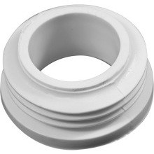 Macdee Wirquin White PVC Finned Bung 1.38""