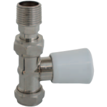 Matchmate 15mm Straight Lockshield Valve MM15LSN