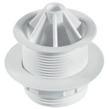 "McAlpine 1 1/2"" Urinal Domed Waste White WU11"