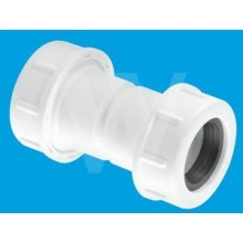 McAlpine 19/23mm Universal Straight Overflow Connector