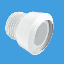 "McAlpine 4""/110mm Straight MACFIT WC Connector"
