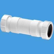 McAlpine Flexible Connector Universal 32mm x 250mm White
