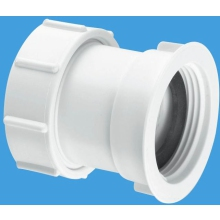 McAlpine Straight Connector Multifit x BSP Female 1 1/4""