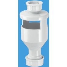 McAlpine Top Inlet Tundish 20mm White