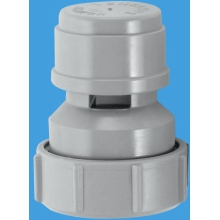 "McAlpine Ventapipe 15 Air Admittance Valve with 1 1/4"" Universal Outlet"