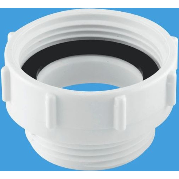 Mcalpine Waste Outlet Reducer 40mm X 32mm White