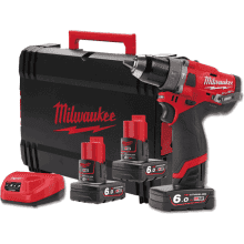 Milwaukee M12 Fuel Drill Driver set